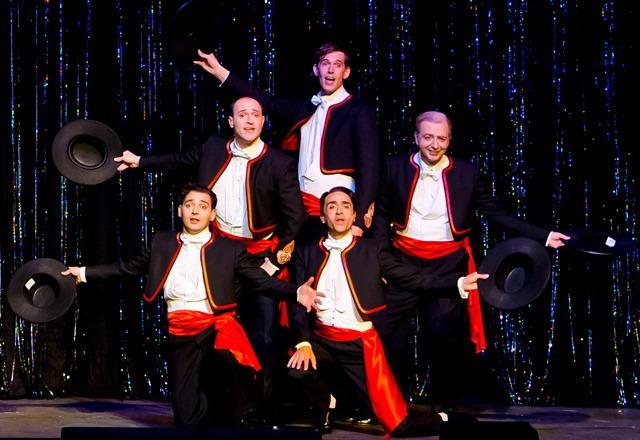 Theater und Kritiken - 20120928 Volkstheater - Die Comedian Harmonists